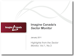 PowerPoint Presentation, Highlights from the Sector Monitor