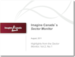 Sector Monitor PowerPoint Front Page