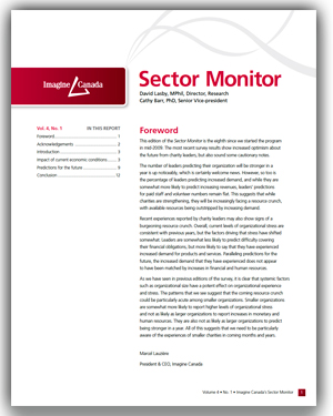 Sector Monitor vol. 4 no. 1