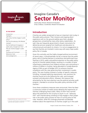 Sector Monitor: Public Policy Activities